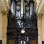 The organ at St Stephen