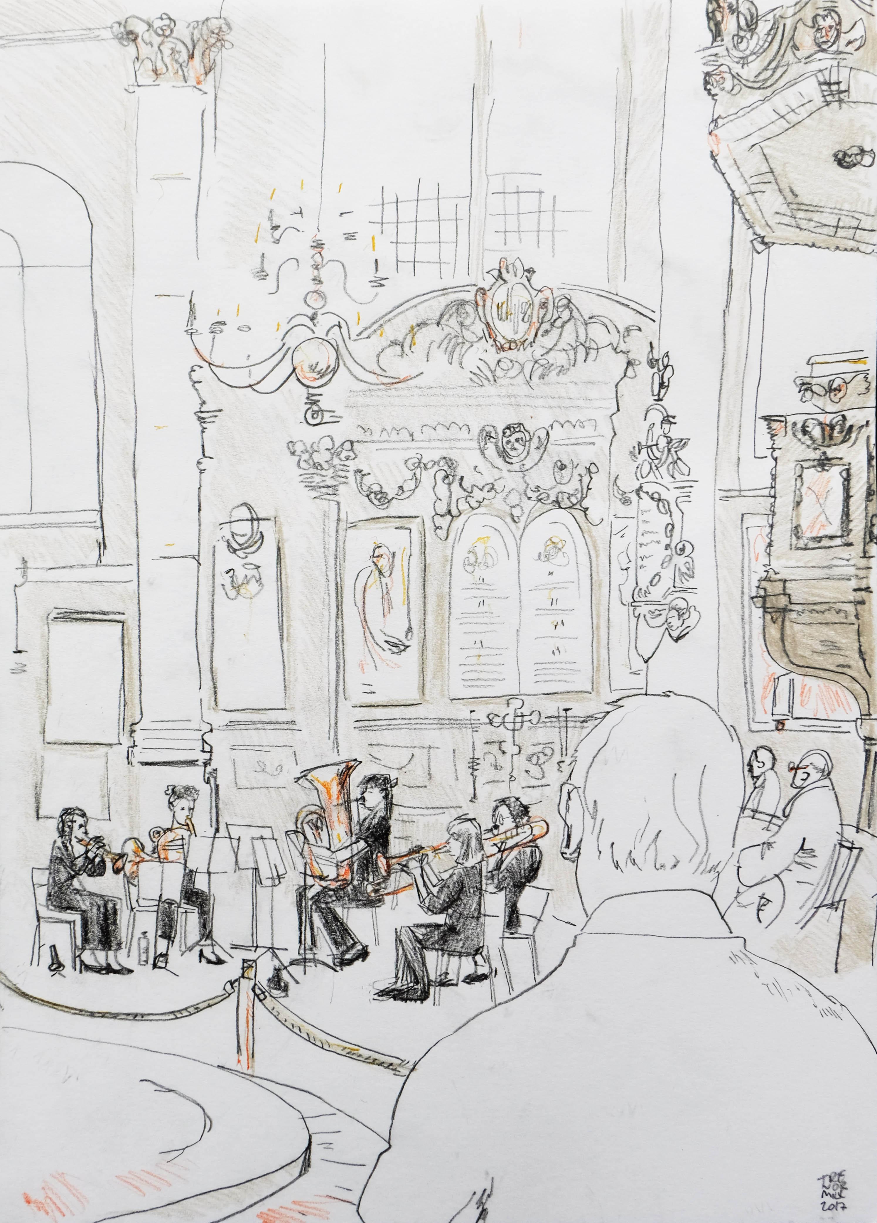 Quintetta at St Stephen Walbrook Church 210317a