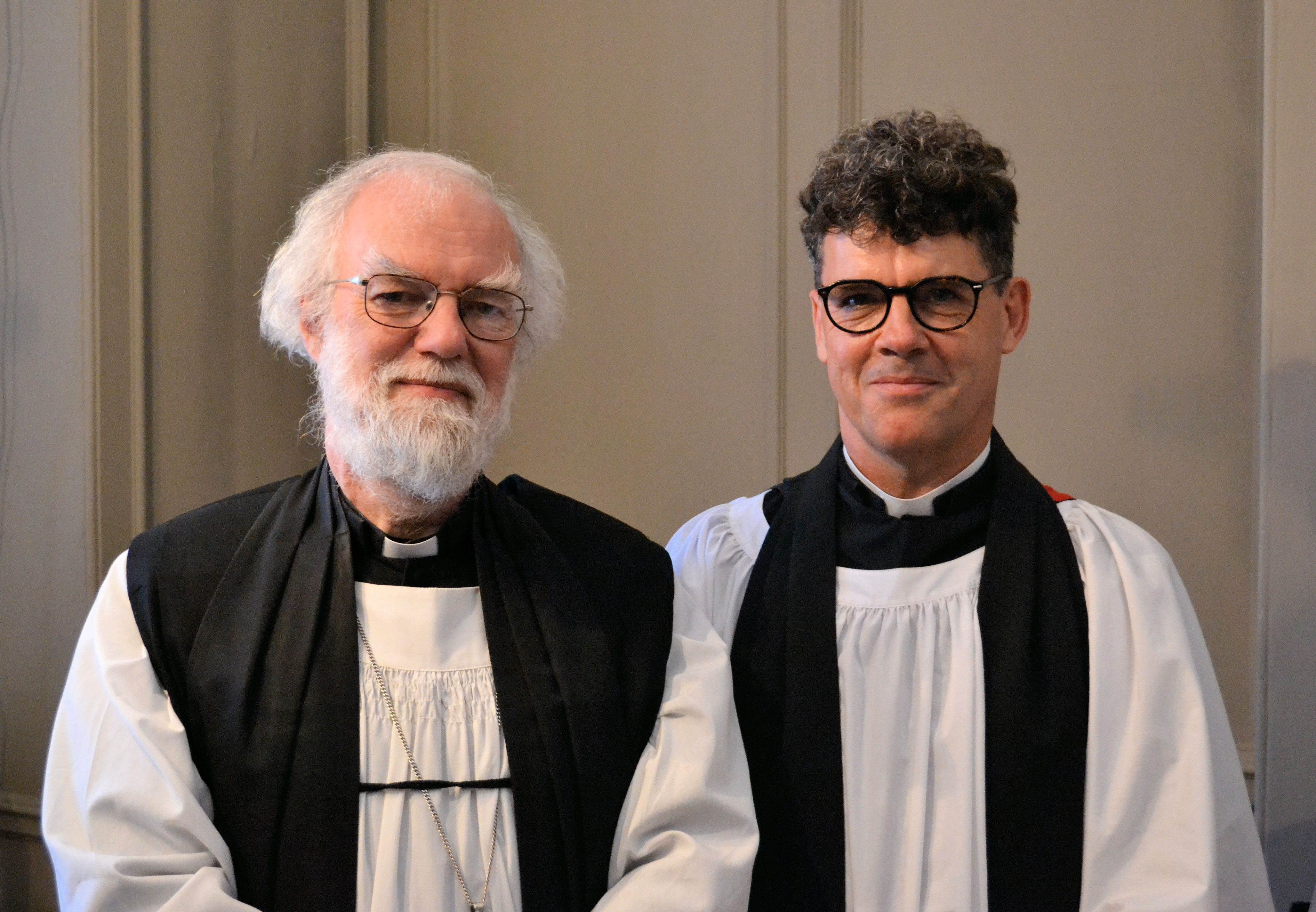 Dr Rowan Williams Preaches At Grocers U2019 Company Election